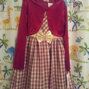 2 pc Christmas dress